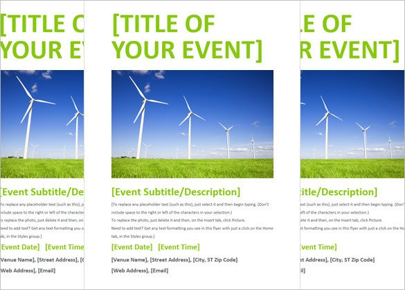 Flyer Templates Free Word 40 Download event Flyer Templates Word Psd Indesign
