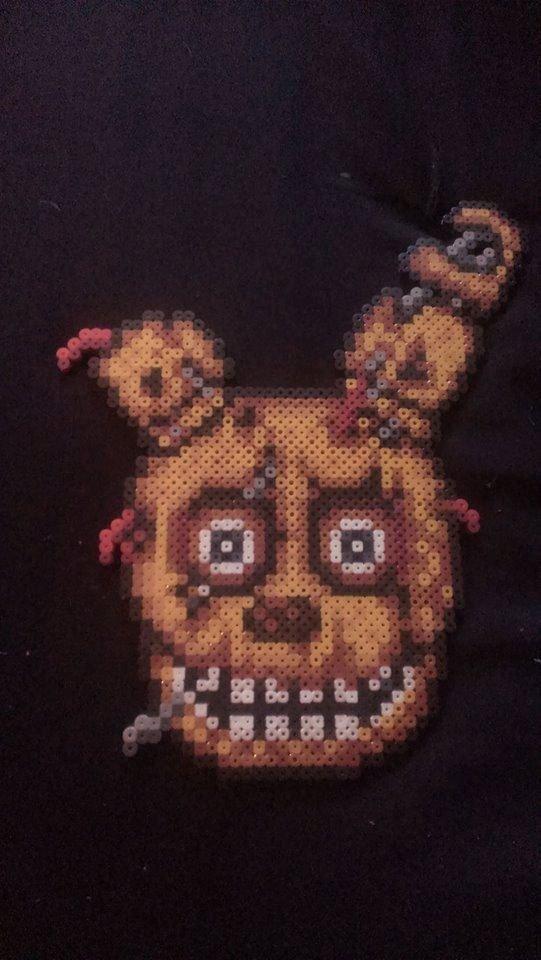 Fnaf Foxy Pumpkin Stencil 46 Bästa Bilderna Om Cross Stitch 5 Nights at Freddy S