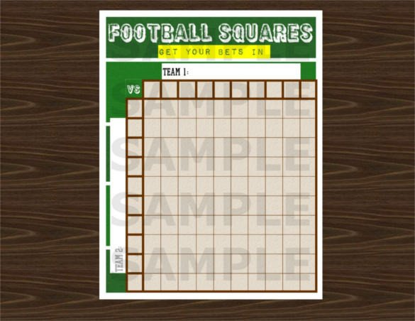 19 Football Pool Templates Word Excel PDF