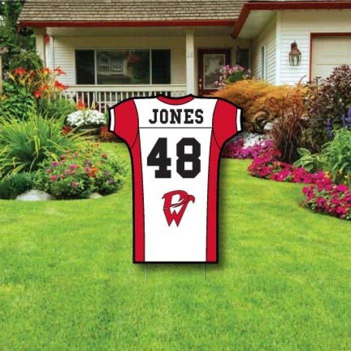 Football Yard Sign Template Best 25 Football Yard Signs Ideas On Pinterest