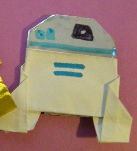 Fortune Wookiee Paper Print Out origami R2d2 Instructions