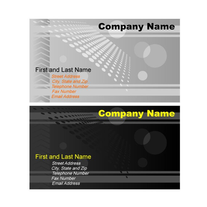 Free Adobe Illustrator Templates Illustrator Business Card Template Graphics Download at