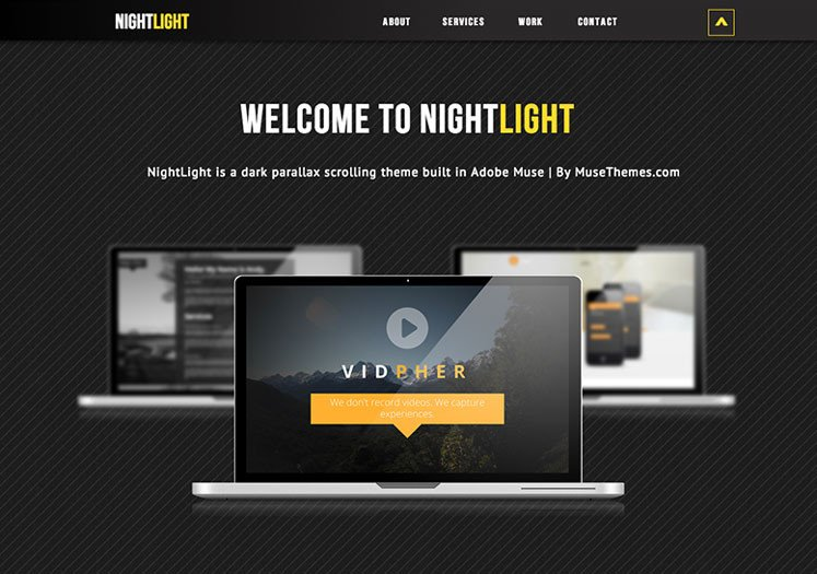 Free Adobe Muse Templates 10 High Quality Premium Adobe Muse Templates Dzineflip