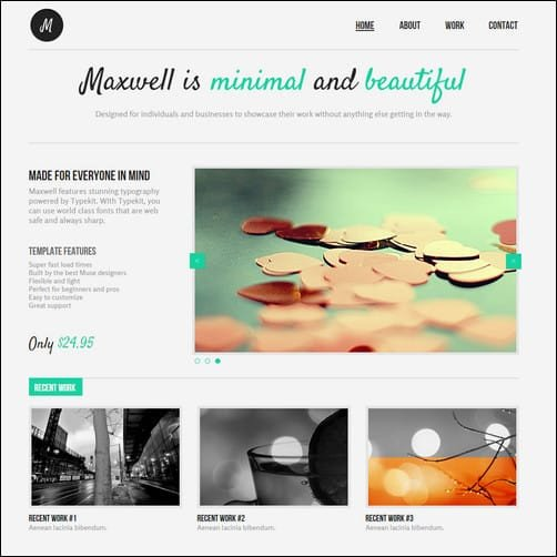 Free Adobe Muse Templates 30 Brilliant Premium and Free Adobe Muse Templates for 2017