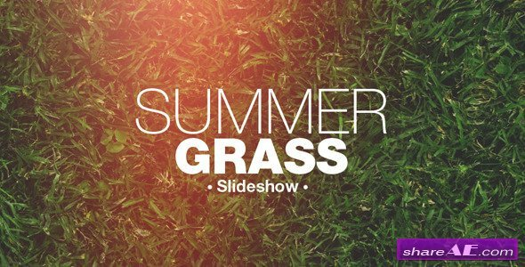 Free after Effects Slideshow Template Grass Slideshow after Effects Project Videohive Free