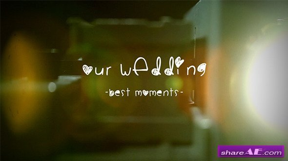 Free after Effects Slideshow Template Wedding Album Slide Projector after Effects Project