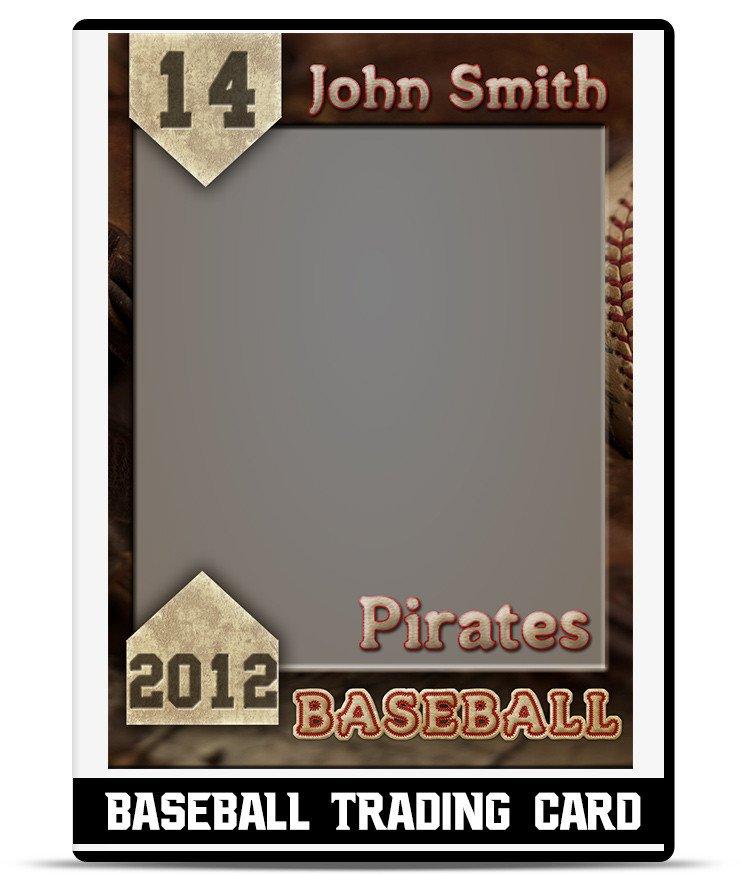 Free Baseball Card Template Baseball – Trading Card Template