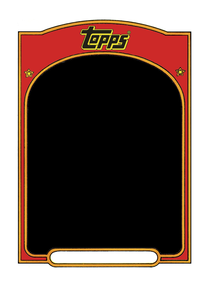 Free Baseball Card Template Sports Trading Card Templet Craft Ideas