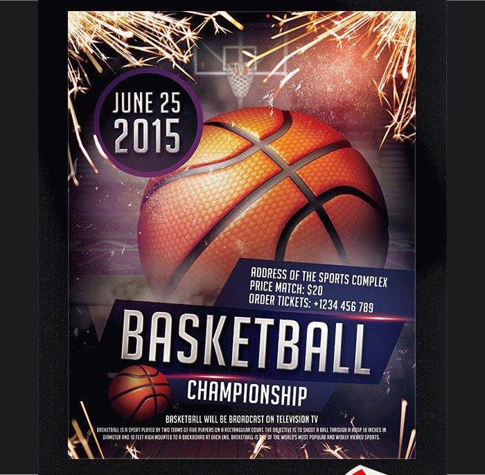 Free Basketball Flyer Template 36 Basketball Flyer Psd Templates Free & Premium Designyep