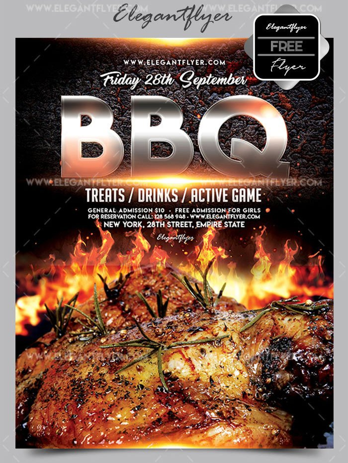 Free Bbq Flyer Template 20 Free Psd Barbeque Flyer Templates for the Best events