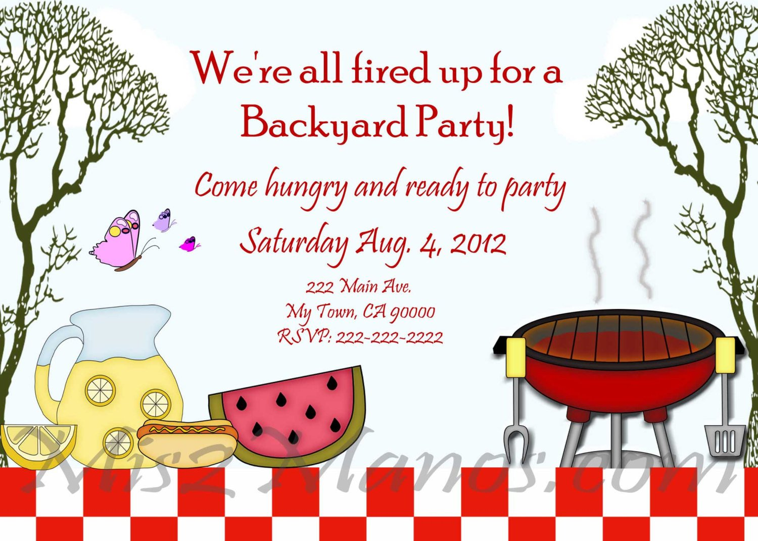 Free Bbq Invitation Template Free Other Design File Page 26 Newdesignfile
