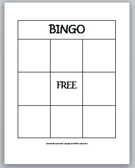 Free Bingo Card Template Learning Ideas Grades K 8 2 D Shapes Bingo for Kids