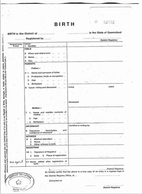 Free Birth Certificate Template 15 Birth Certificate Templates Word & Pdf Template Lab