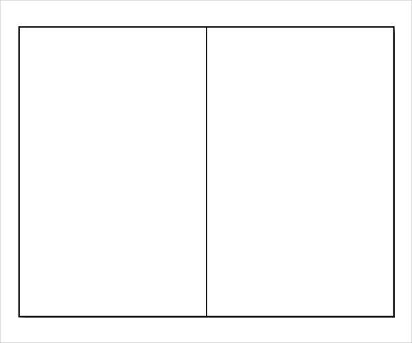 Free Booklet Template Word Blank Brochure Template for Word Csoforumfo