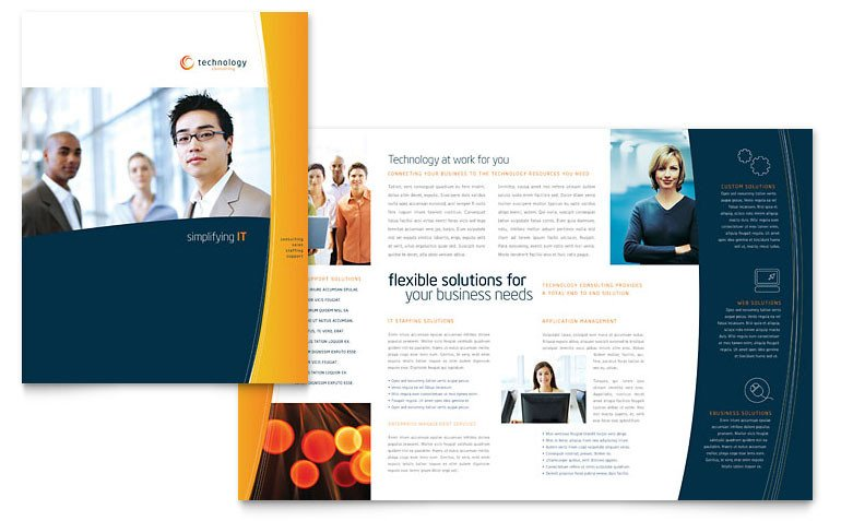 Free Booklet Template Word Free Brochure Template Download Word & Publisher Templates