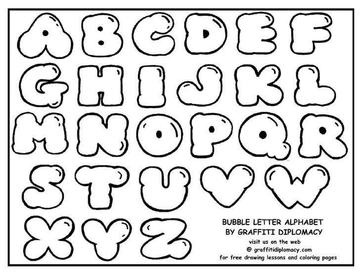 Free Bubble Letter Font Best 25 Easy Graffiti Drawings Ideas On Pinterest