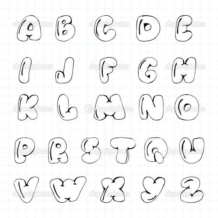 Free Bubble Letters Fonts Best 25 Bubble Letter Fonts Ideas On Pinterest