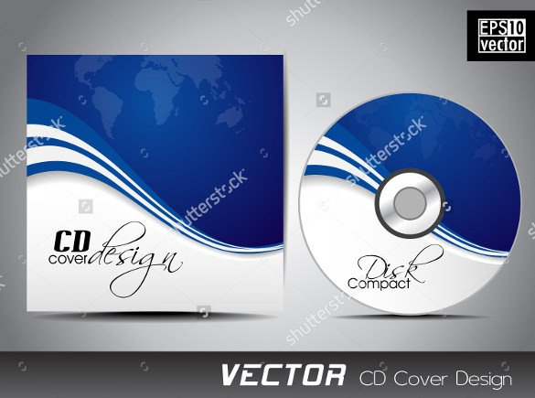 Free Cd Cover Template Cd Label Template – 22 Free Psd Eps Ai Illustrator