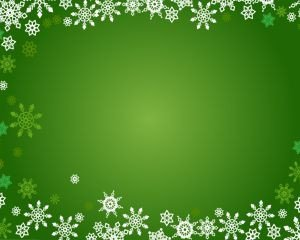 Free Christmas Powerpoint Templates Christmas Snowflakes Ppt