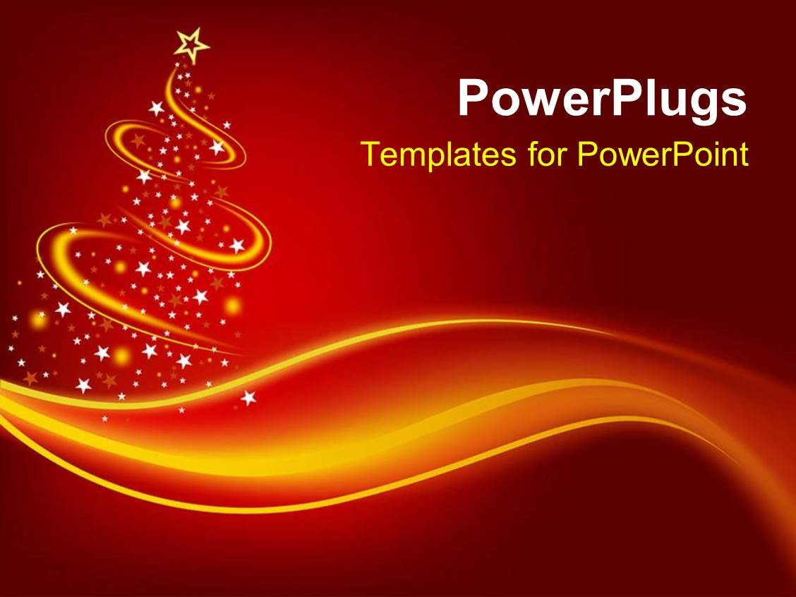 Free Christmas Powerpoint Templates Powerpoint Template Christmas theme with Abstract
