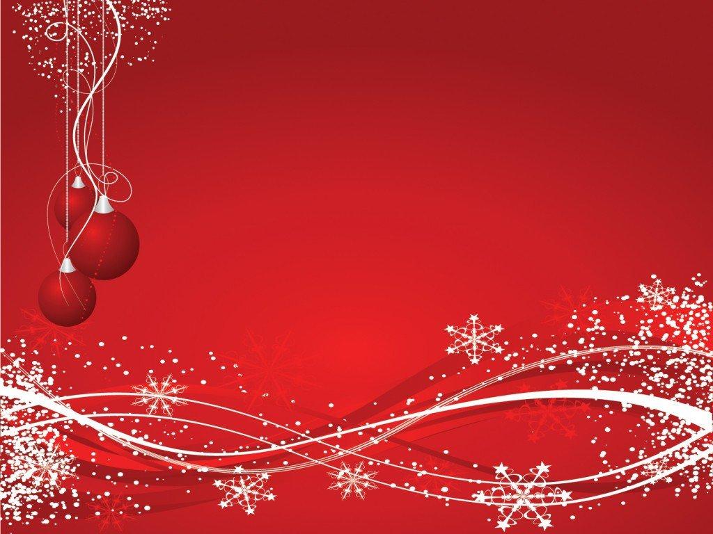 Free Christmas Powerpoint Templates Xmas Snowflakes Powerpoint Templates Christmas Red