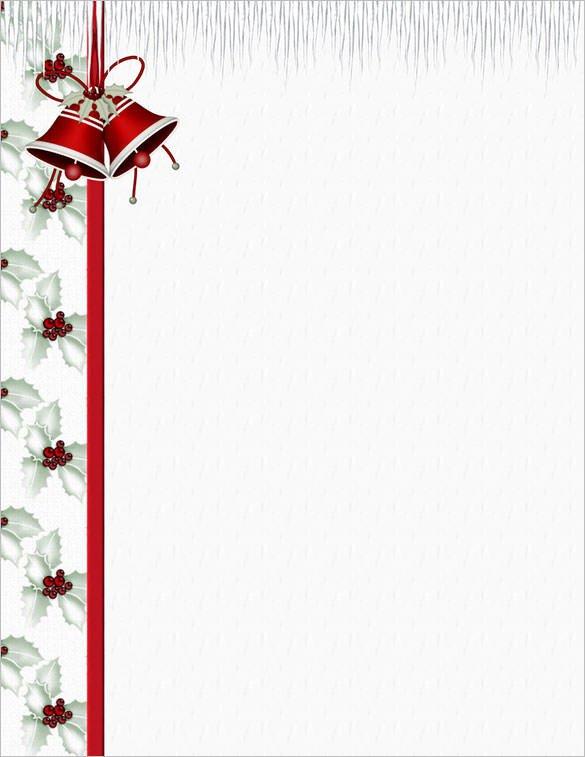 Free Christmas Stationery Templates 25 Christmas Stationery Templates Free Psd Eps Ai