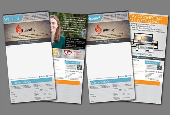 Free Church Bulletin Templates 15 Church Bulletin Templates – Psd Indesign