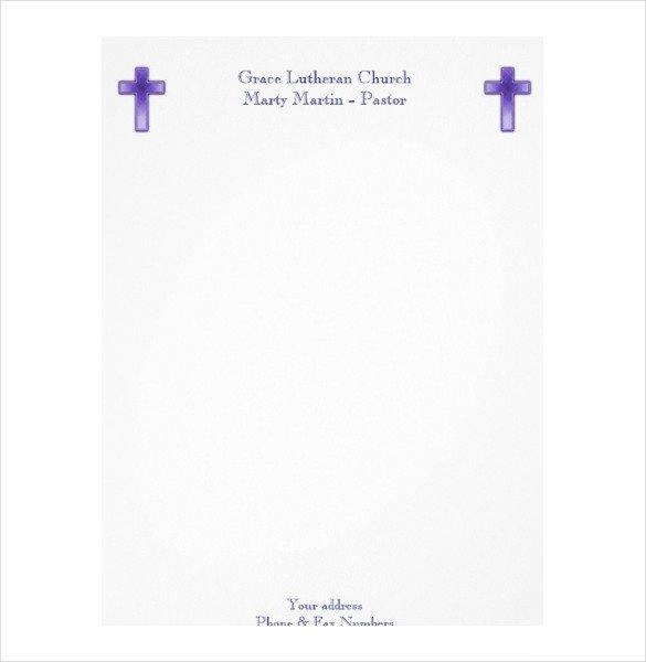 Free Church Letterhead Templates 14 Church Letterhead Templates Free Psd Eps Ai