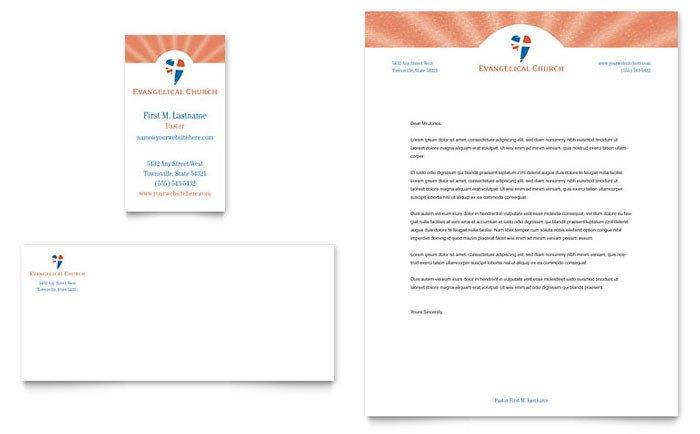 Free Church Letterhead Templates Sample Church Letterhead