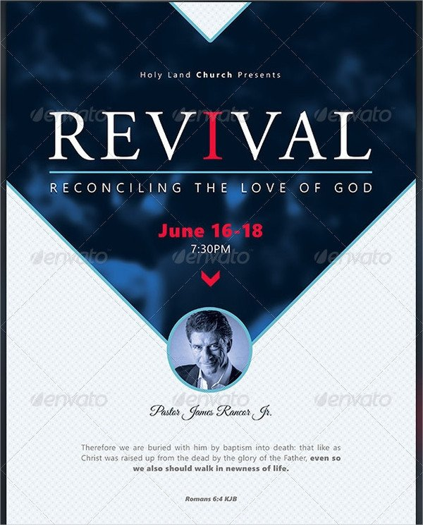 Free Church Revival Flyer Template 21 Revival Flyers Free Psd Ai Eps