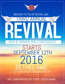 Free Church Revival Flyer Template 24 670 Customizable Design Templates for Revival Flyer
