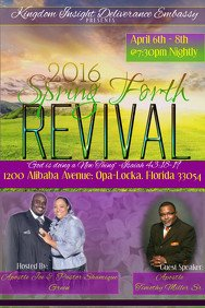 Free Church Revival Flyer Template Customize 3 870 Church Flyer Templates