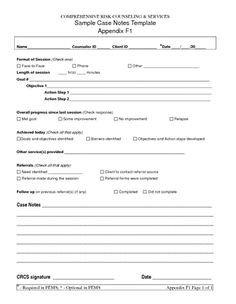 Free Dap Note Template Clinical Progress Note Template