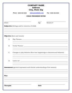 Free Dap Note Template Sample Psychotherapy Progress Notes Template