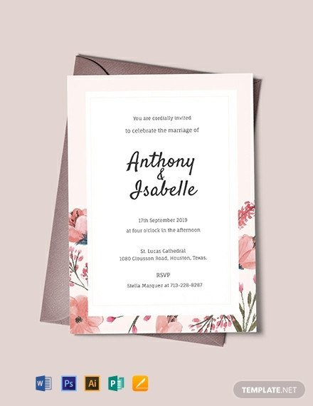 Free Download Invite Templates 1001 Free Invitation Templates [download Ready Made
