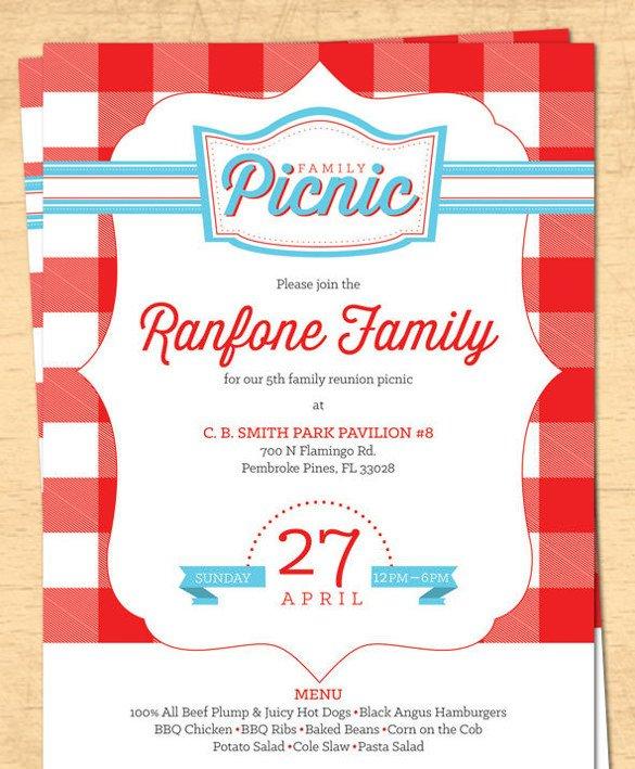 Free Downloadable Picnic Invitation Template Fice Picnic Invitation Mail