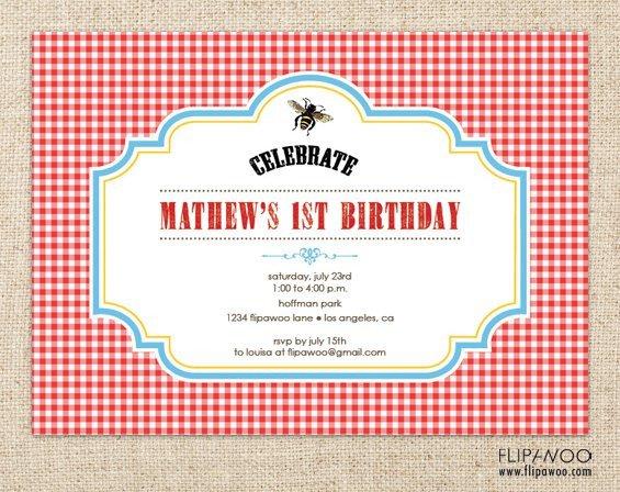 Free Downloadable Picnic Invitation Template Free Printable Picnic Invitations Templates