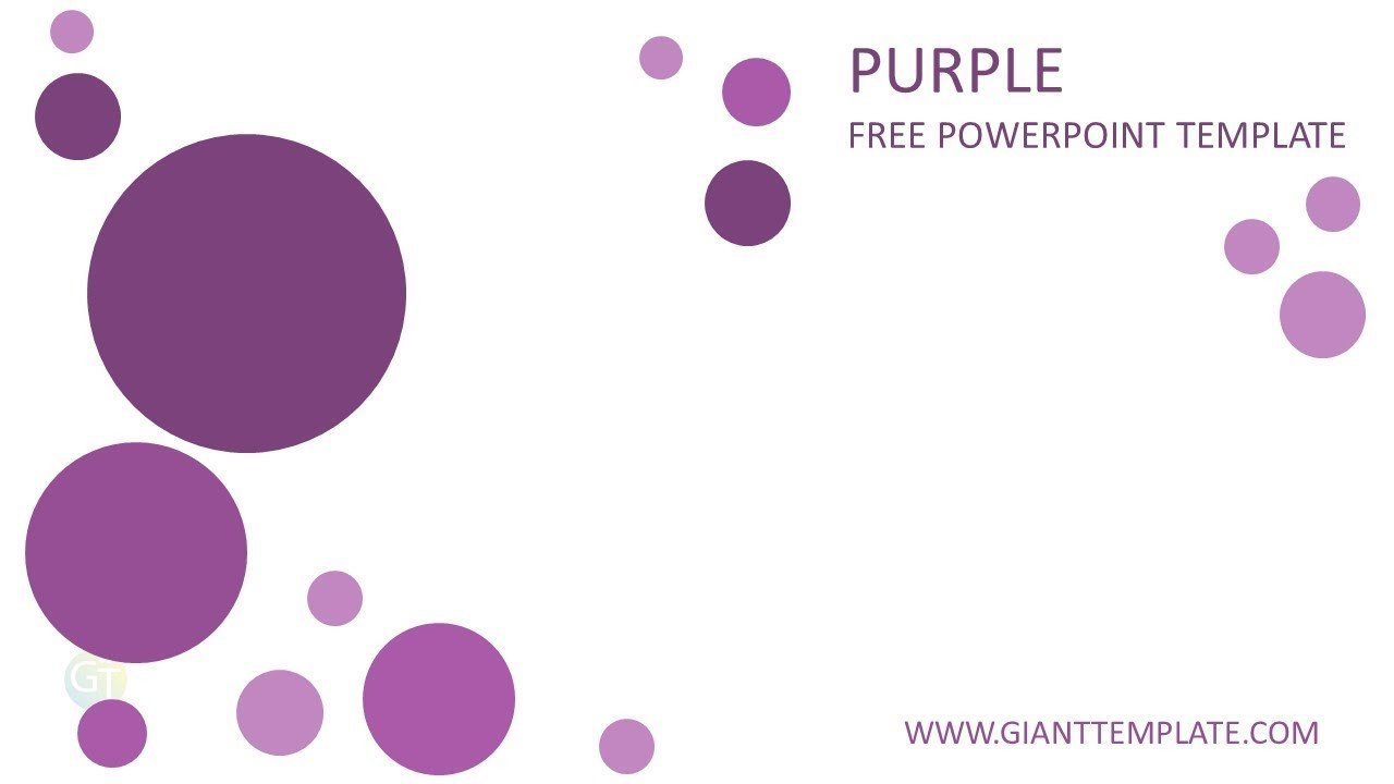Free Downloads Powerpoint Templates Professional Powerpoint Templates Free Download Purple