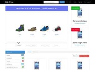 Free Ecommerce Websites Templates Free E Merce Website Templates 26