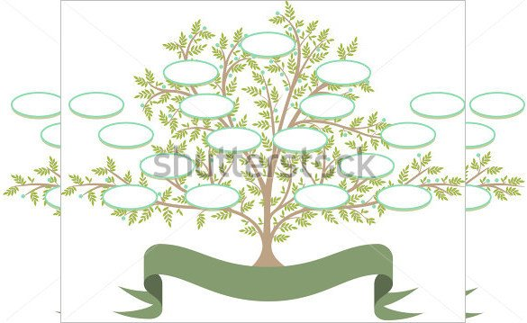 Free Editable Family Tree Templates 11 Popular Editable Family Tree Templates & Designs