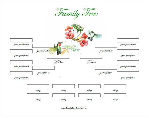 Free Editable Family Tree Templates Family Tree Template 29 Download Free Documents In Pdf