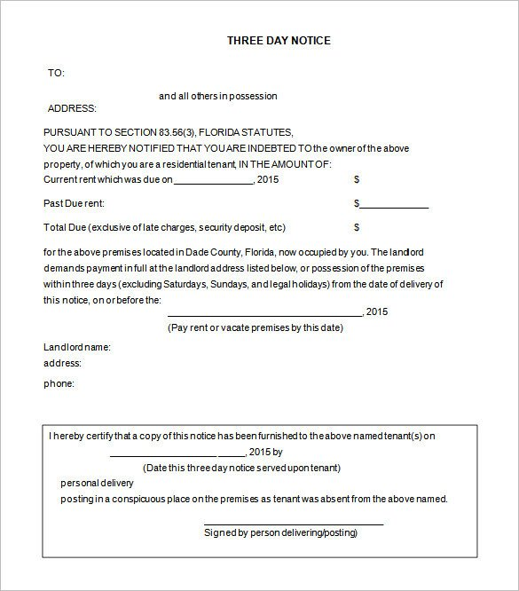Free Eviction Notice Template 38 Eviction Notice Templates Pdf Google Docs Ms Word