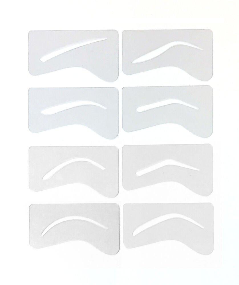 Free Eyebrow Stencils Printouts 24 Microblading Eyebrow Stencil Template Permanent Makeup