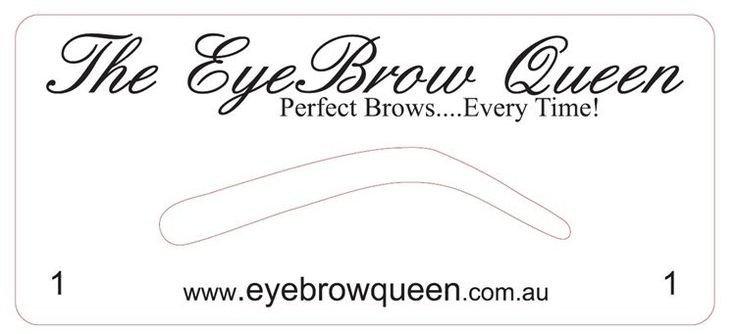 Free Eyebrow Stencils Printouts Eyebrow Templates Printable Invitation Templates