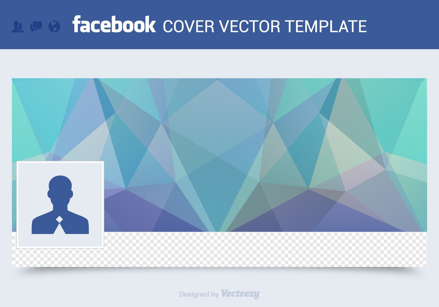 Free Facebook Covers Templates Free Cover Vector Template Download Free Vector