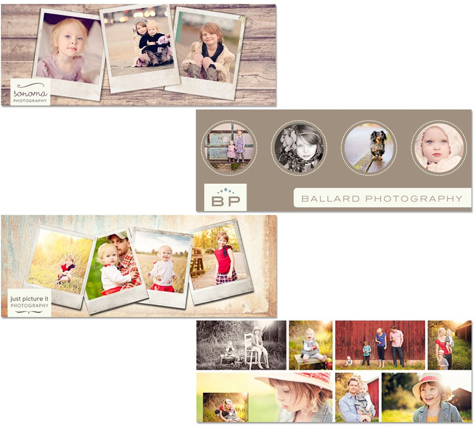 Free Timeline Business Page Cover Templates and