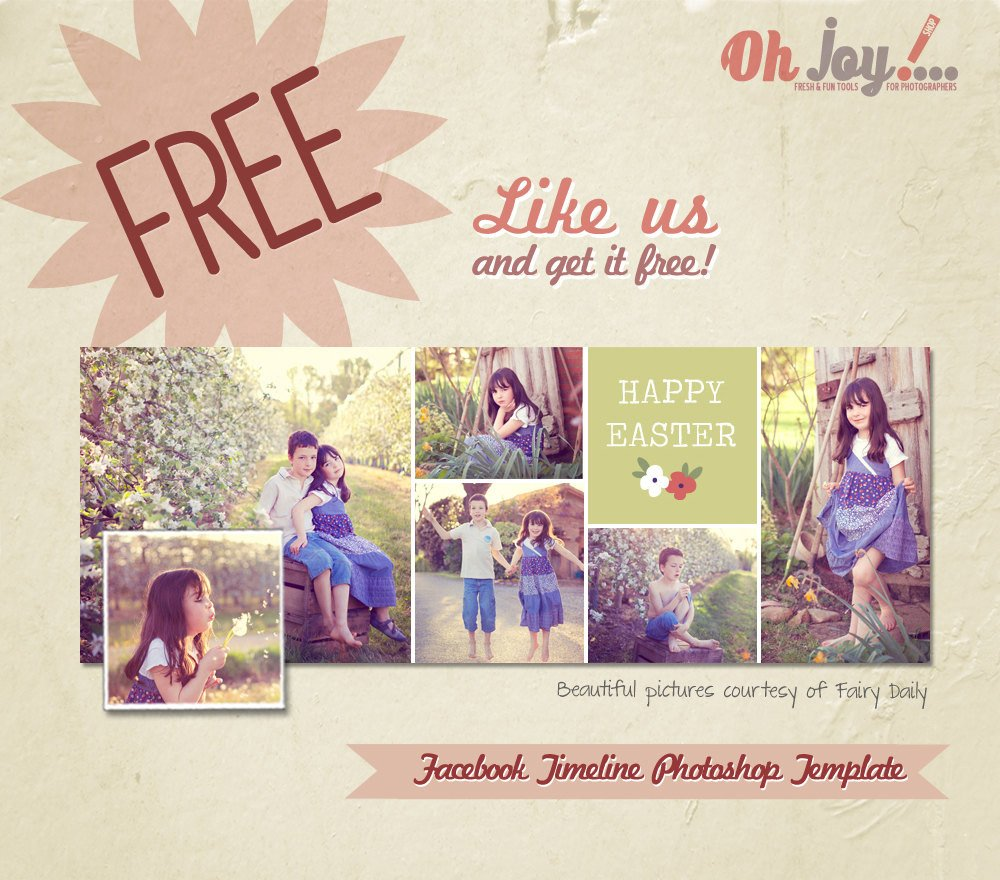 Free Facebook Covers Templates Free Timeline Cover Shop Template