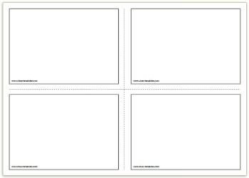 Free Flash Card Template 2x2 Free Printable Flash Cards Template
