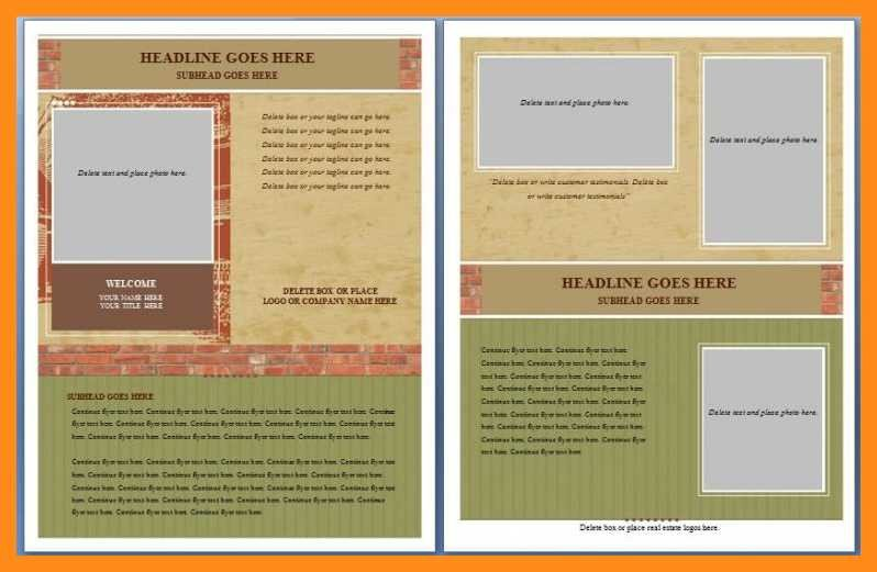 Free Flyer Templates Microsoft Word 12 13 Microsoft Word Handout Templates