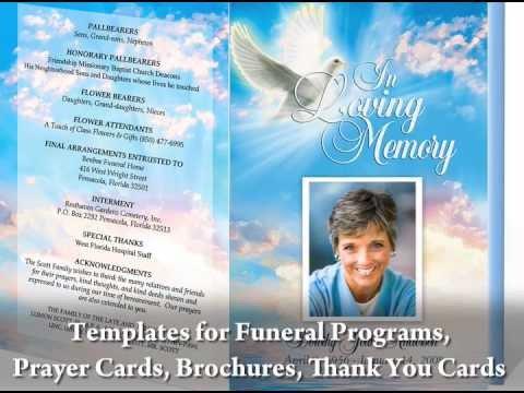 Free Funeral Program Template Word Funeral Programs with Funeral Program Templates
